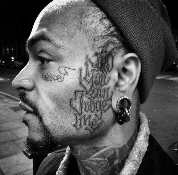 Face Tattoo 14