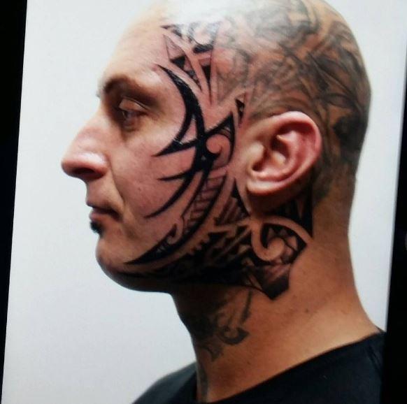 Face Tattoo 15