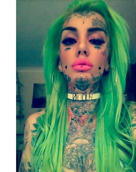Face Tattoo 22