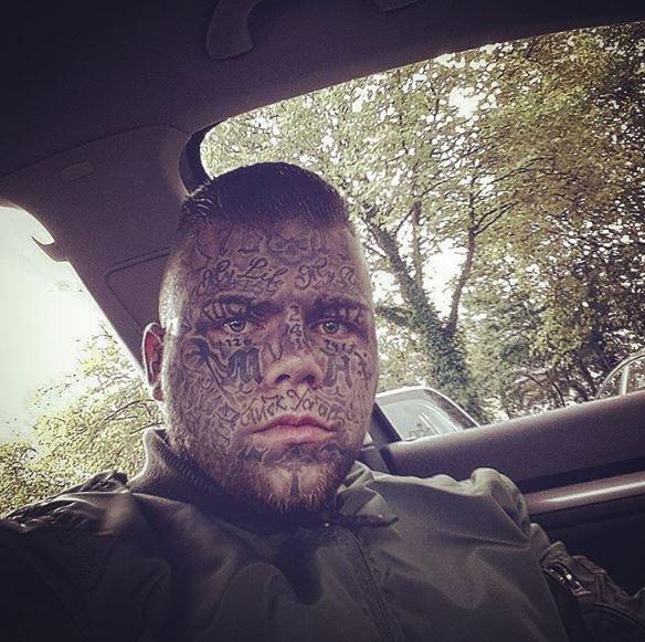 Face Tattoo 34