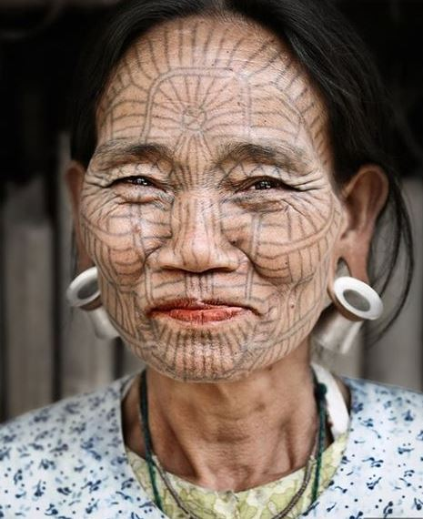Face Tattoo 36