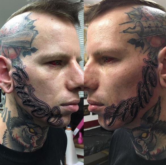 Face Tattoo 39