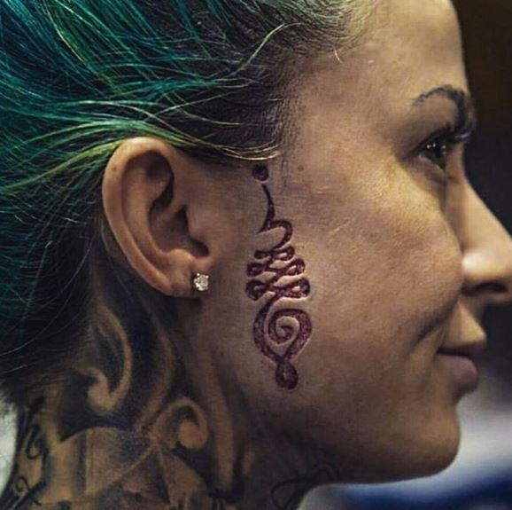 Face Tattoo 42