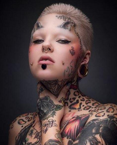 Face Tattoo 44