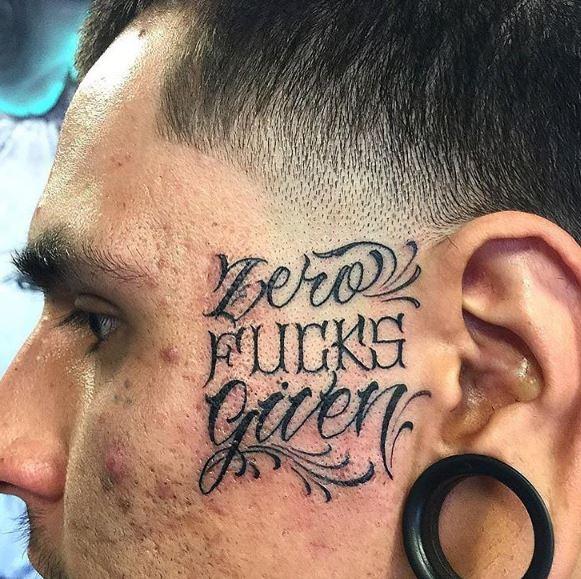 Face Tattoo 47