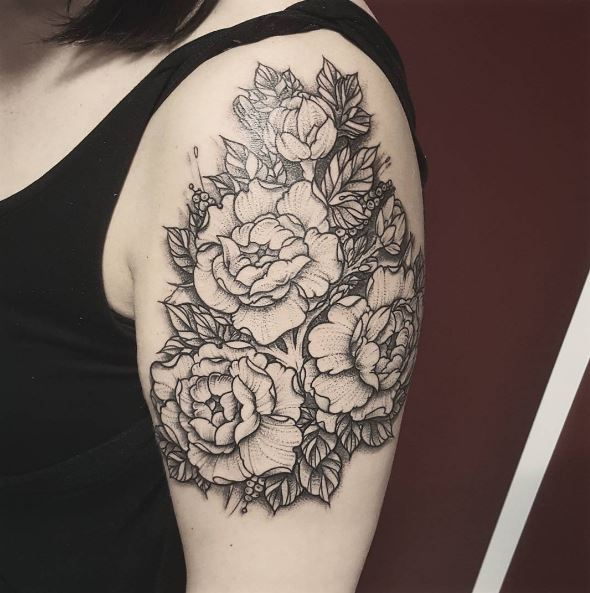 Floral Tattoos Design For Women