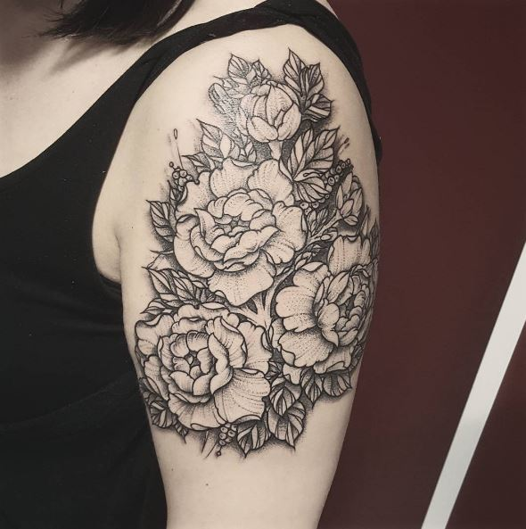 Floral Tattoos For Women