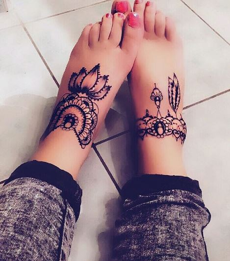 Foot Tattoo 1