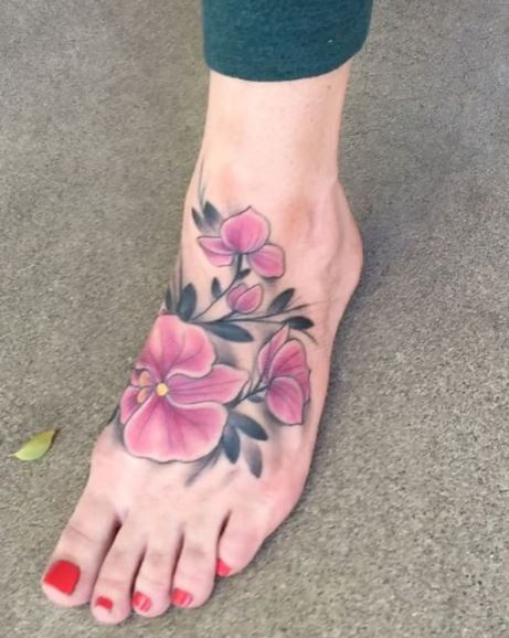 Foot Tattoo 10