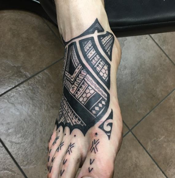 Foot Tattoo 15