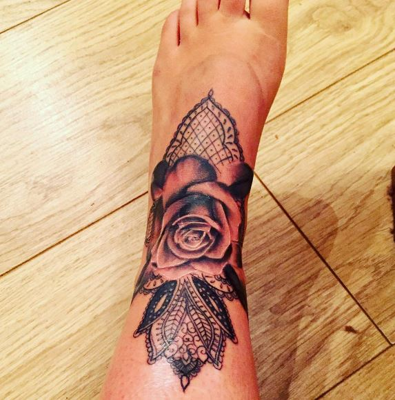 Foot Tattoo 25