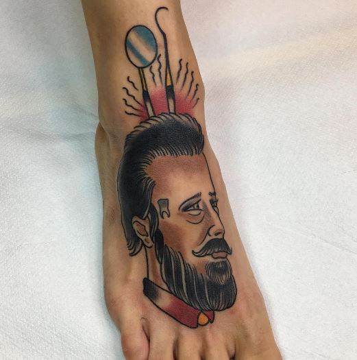 Foot Tattoo 29