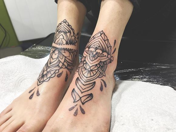 Foot Tattoo 3