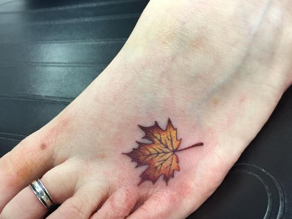 Foot Tattoo 31
