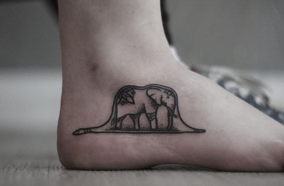 Foot Tattoo 39