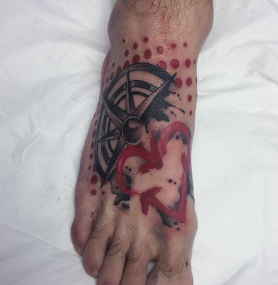 Foot Tattoo 45