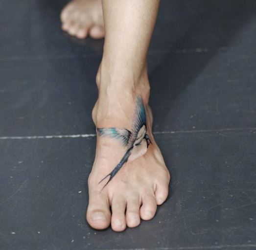 Foot Tattoo 47
