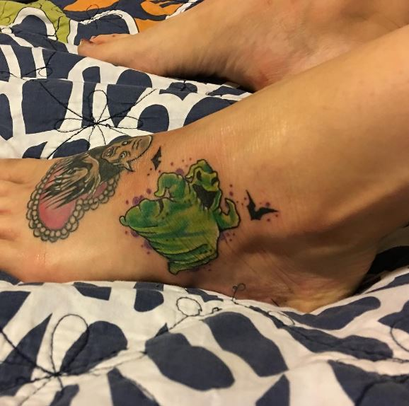 Foot Tattoo 5