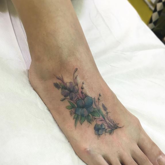 Foot Tattoo 9