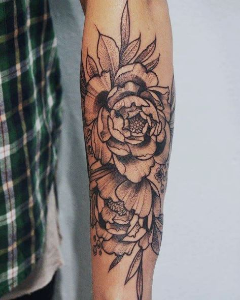 Full Size Floral Tattoos Design And Ideas