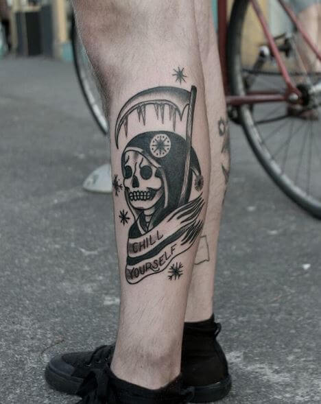 Grim Reaper Tattoos For Boys