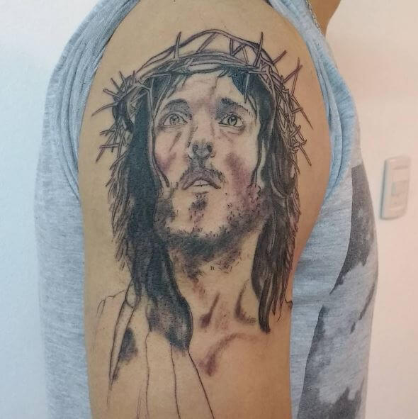 Jesus Arm Hand Tattoos Design And Ideas