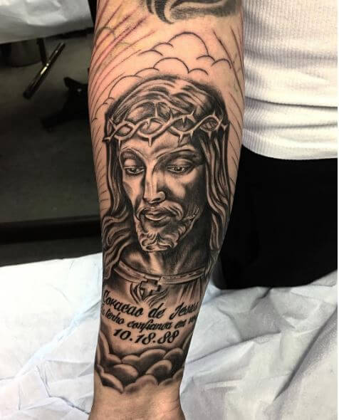 Jesus Sleeve Tattoos Design And Ideas