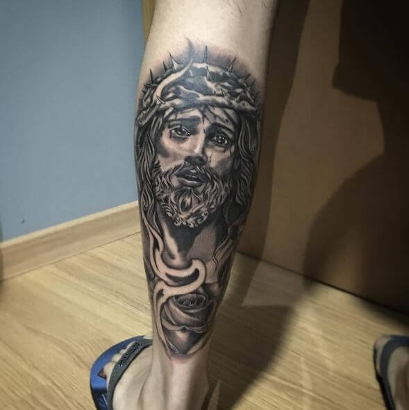 Jesus Tattoos Design And Ideas For Men