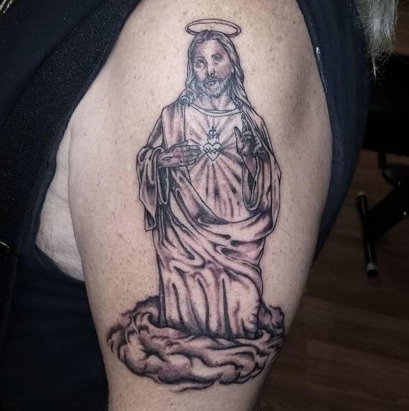 Jesus Tattoos For Boys