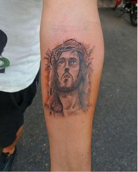 Jesus Tattoos For Men