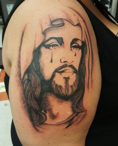 Jesus Tattoos For Women