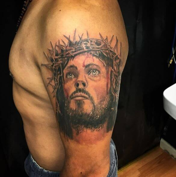 Latest Jesus Christ Tattoos Design And Ideas