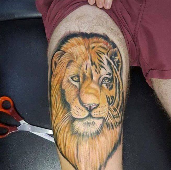 Lion Tattoos For Men