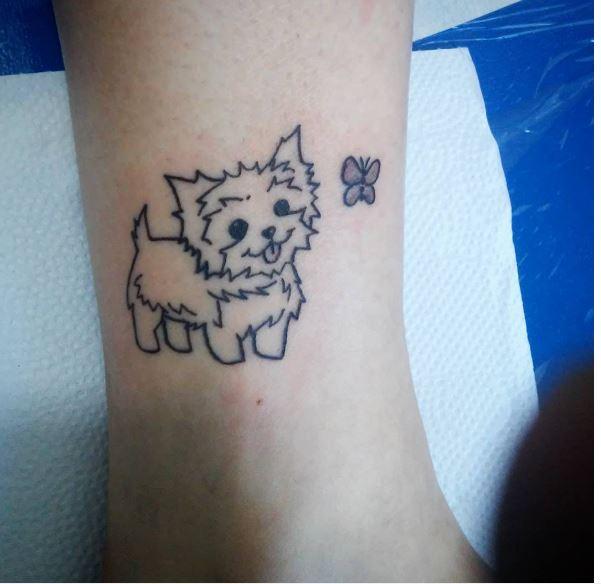 Micro Cat Tattoos Design And Ideas