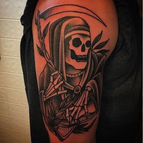Most Popular Grim Reaper Tattoos Design And Ideas