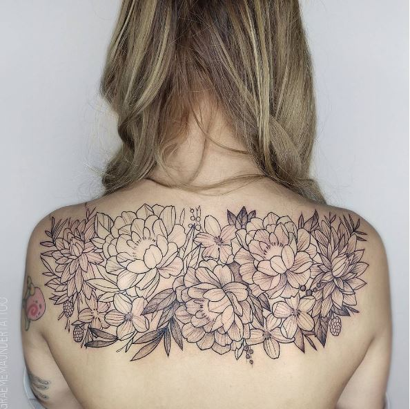 Nice Floral Tattoos Design And Ideas