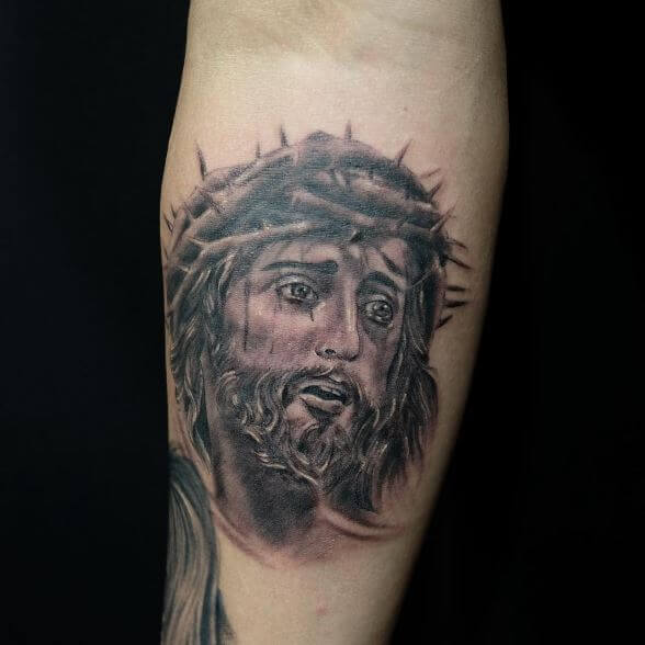 Nice Jesus Tattoos Design And Ideas