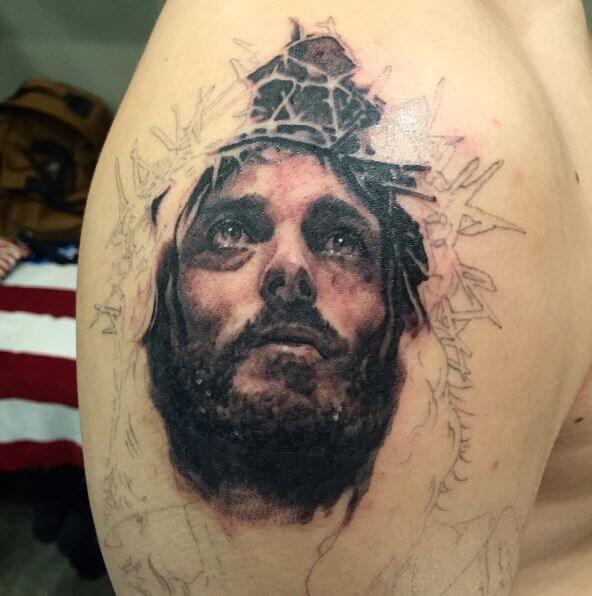 Pretty Jesus Tattoos Design And Ideas