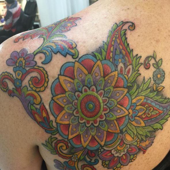 Shoulder Tattoos Design For Women