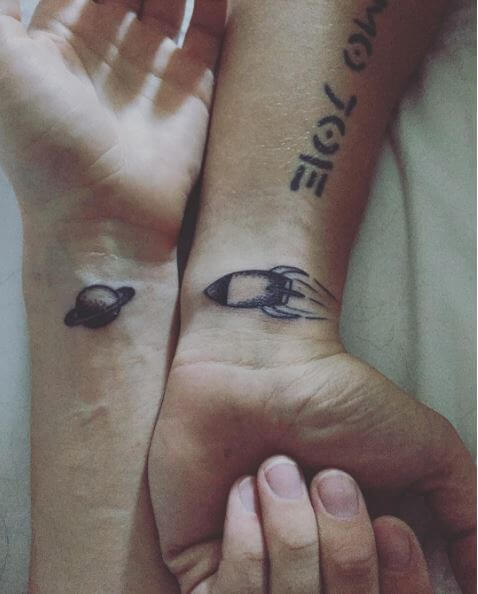 Sibling Tattoos On Pinterest