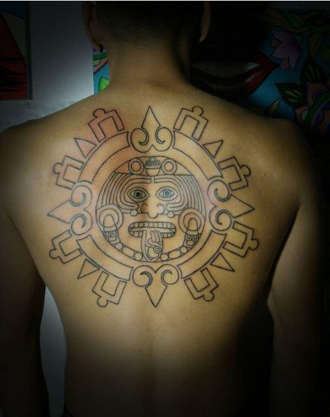 Simple Aztec Tattoos Design And Ideas