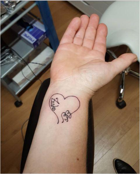 Simple Micro Tattoos Design And Ideas