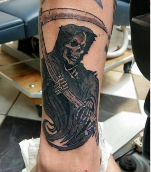 Stylish Grim Reaper Tattoos Design And Ideas