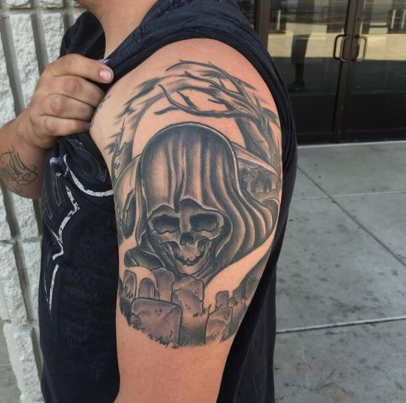 Top Grim Reaper Tattoos Design And Ideas