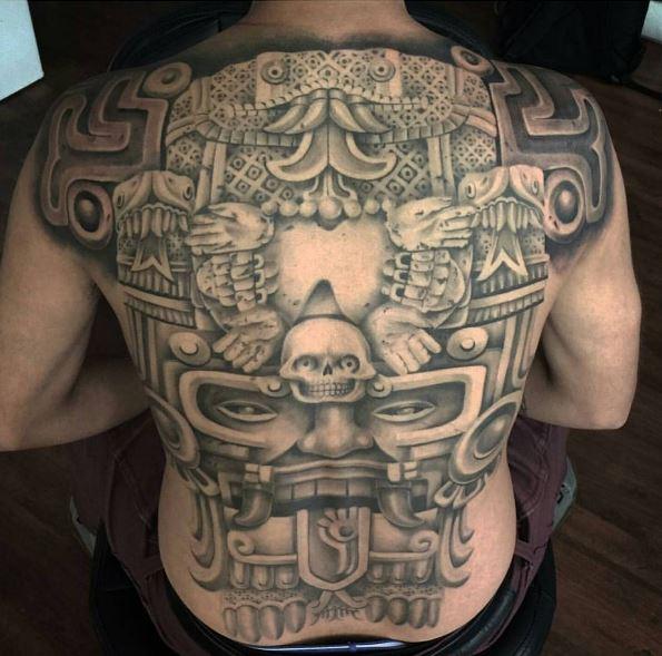 Unique Aztec Tattoo Designs