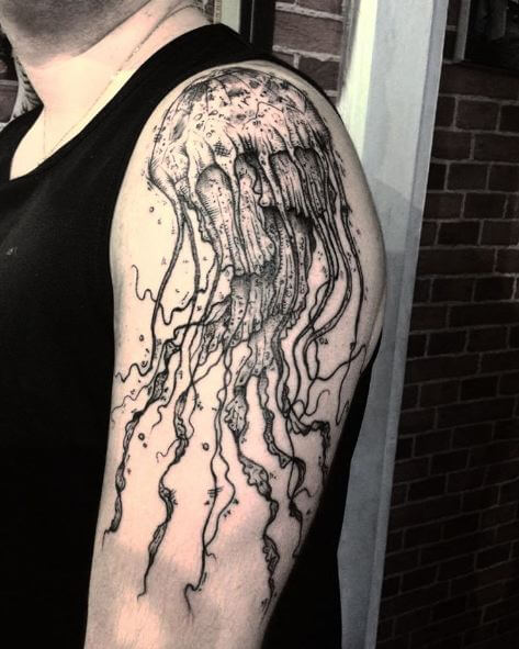 Amazing Jellyfish Tattoos