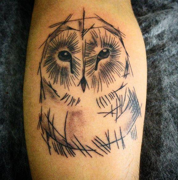 Amazing Sketch Style Tattoos