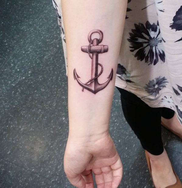 Anchor Tattoos For Women