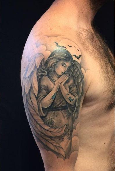 Angle Quarter Sleeve Tattoos