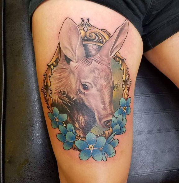 Animal Leg Tattoos